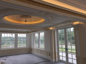 Full commitment is given to our Fibrous Plaster Mouldings