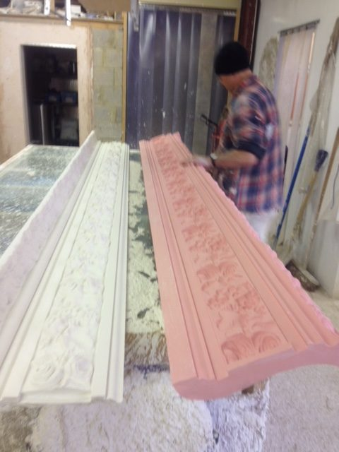 Manufacturing to our customers exact plaster moulding requirements